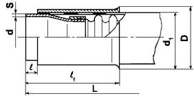 Металлорукав с арматурой под приварку ( 4655А )