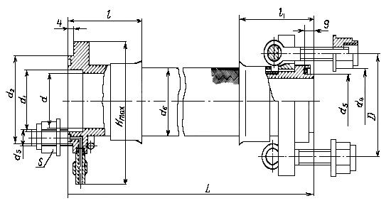 Металлорукав Фланцевое Соединение с Откидными болтами (4656А)