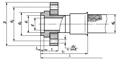 Металлорукав Фланцевое Соединение Нержавеющая сталь (4657А)