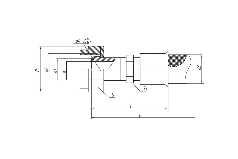 Металлорукав Сфера Под Конус 60° (серия Н8ДО.449.032)